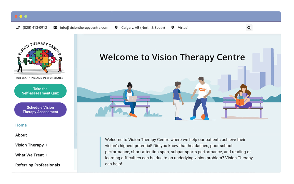 vision-therapy-optometry-web-design-edmonton-calgary